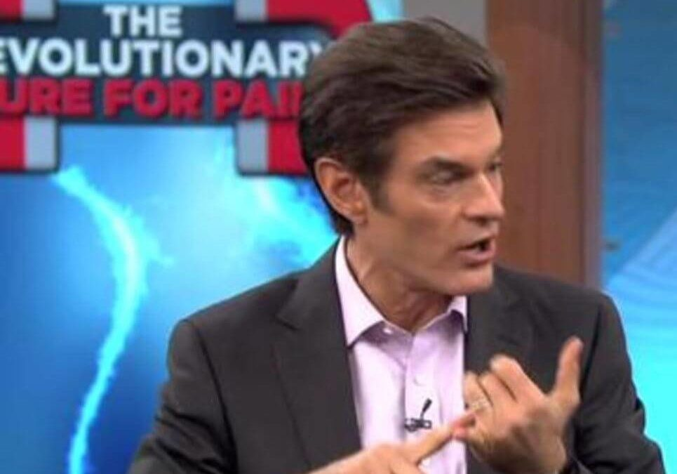 Dr. Oz Discusses PEMF (Pulsed ElectroMagnetic Fields) Therapy