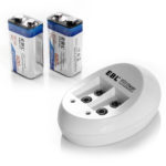 Rechargable 9 Volt Batteries Portable PEMF ElectroMeds